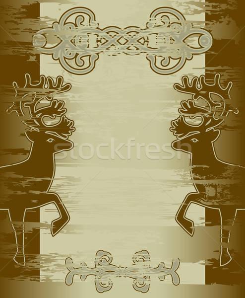 Decorativo ilustração útil estilista trabalhar papel Foto stock © Aqua