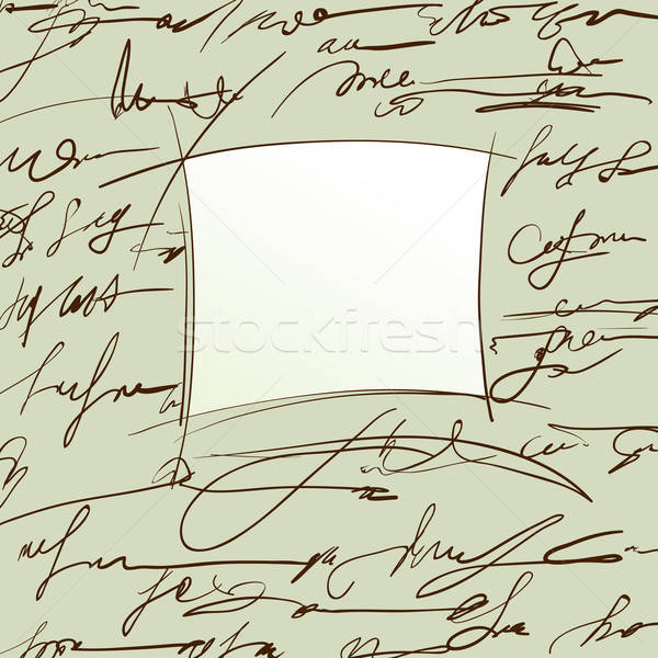 抽象的な 文字 実例 便利 デザイナー 作業 ストックフォト © Aqua