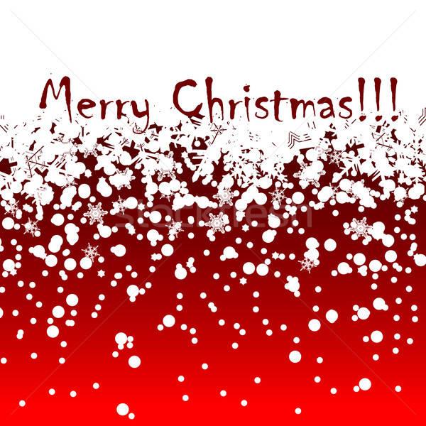 Foto stock: Natal · ilustração · útil · estilista · trabalhar · escritório