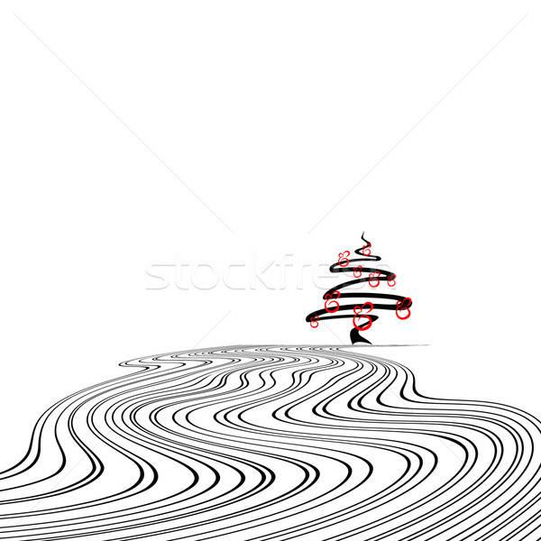 Photo stock: Noël · illustration · utile · designer · travaux · papier
