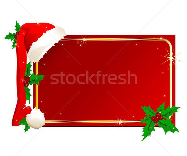 Photo stock: Noël · illustration · utile · designer · travaux · vert