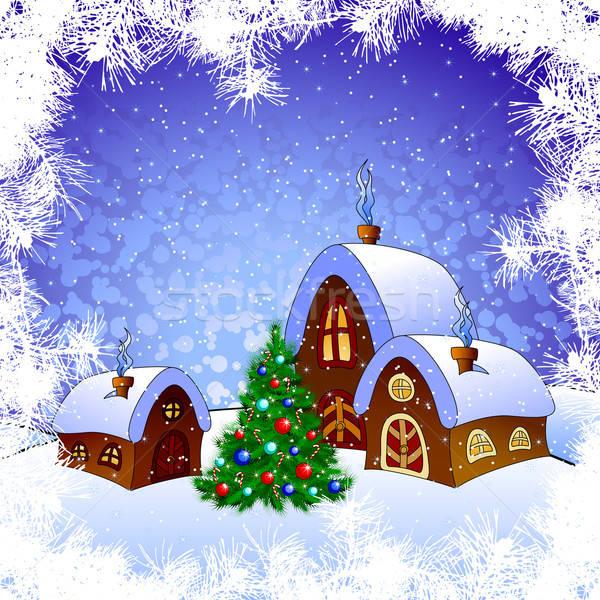 Natale illustrazione utile designer lavoro home Foto d'archivio © Aqua