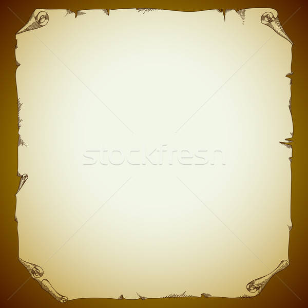 Vecchia carta antica carta illustrazione utile designer Foto d'archivio © Aqua