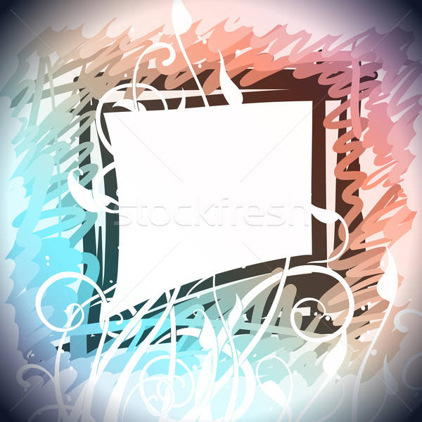Foto stock: Abstrato · quadro · ilustração · útil · estilista · trabalhar