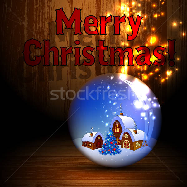 クリスマス 実例 することができます 中古 背景 冬 ストックフォト © Aqua