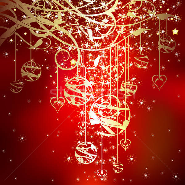 Natal ilustração útil estilista trabalhar luz Foto stock © Aqua