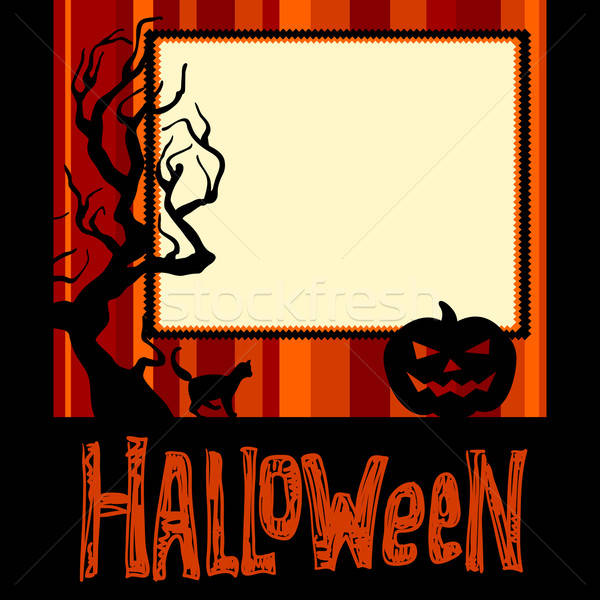 Открытки на хэллоуин рисунок 11