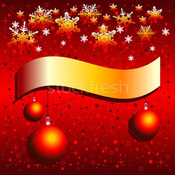 Natal ilustração útil estilista trabalhar projeto Foto stock © Aqua