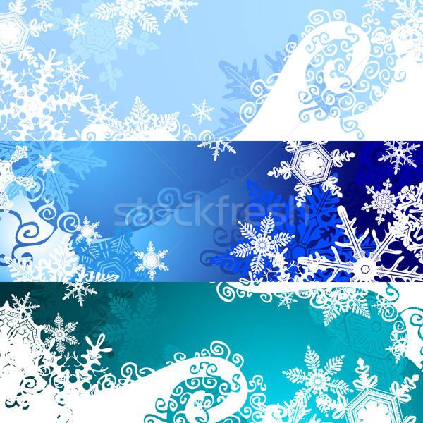 クリスマス バナー 実例 便利 デザイナー 作業 ストックフォト © Aqua