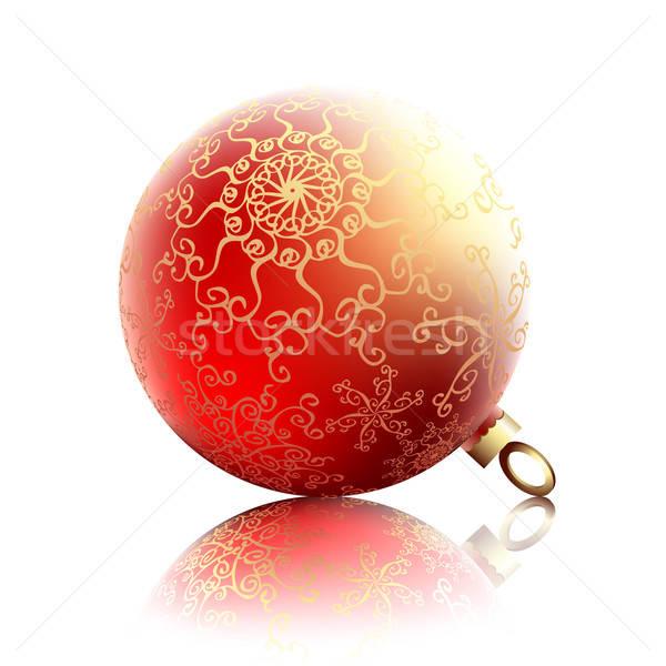 Foto stock: Natal · ilustração · útil · estilista · trabalhar · árvore