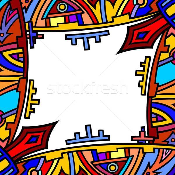 ethnic background Stock photo © Aqua