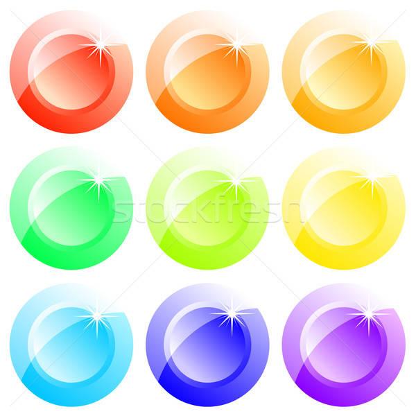 buttons colored Stock photo © Aqua