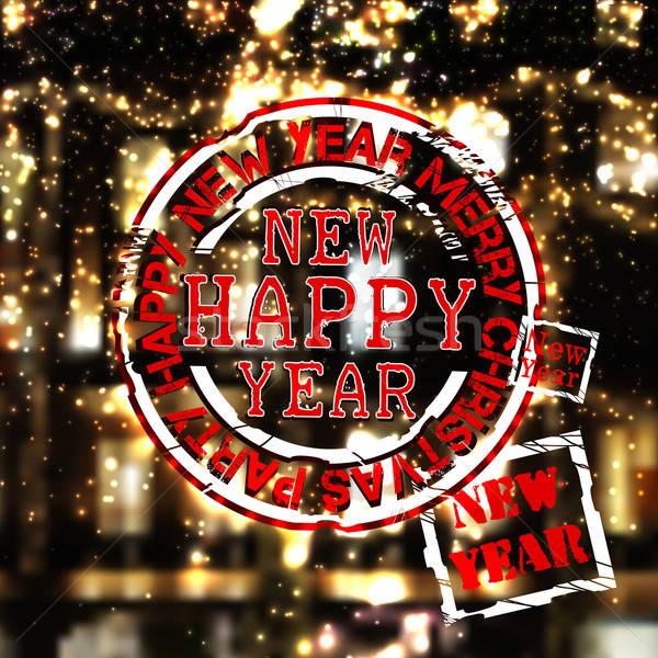 Christmas and New Year design Stock photo © Aqua
