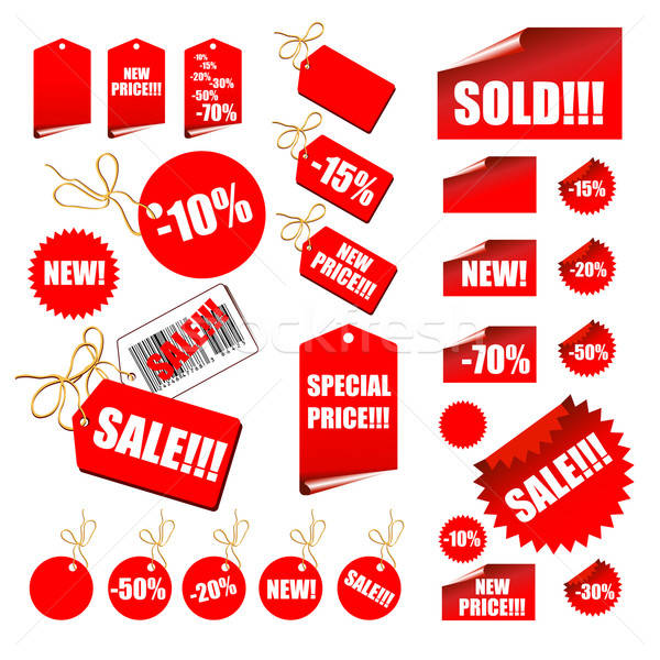 Stock photo: tags sale