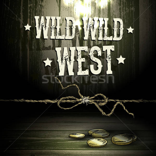 Theme WILD WEST Stock photo © Aqua