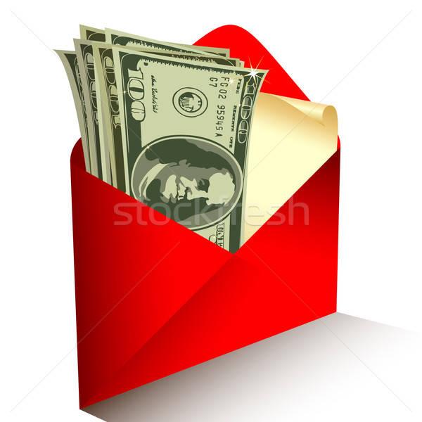 Dollari illustrazione utile designer lavoro carta Foto d'archivio © Aqua