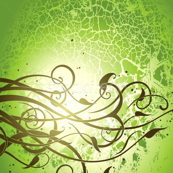 Floreale illustrazione utile designer lavoro texture Foto d'archivio © Aqua