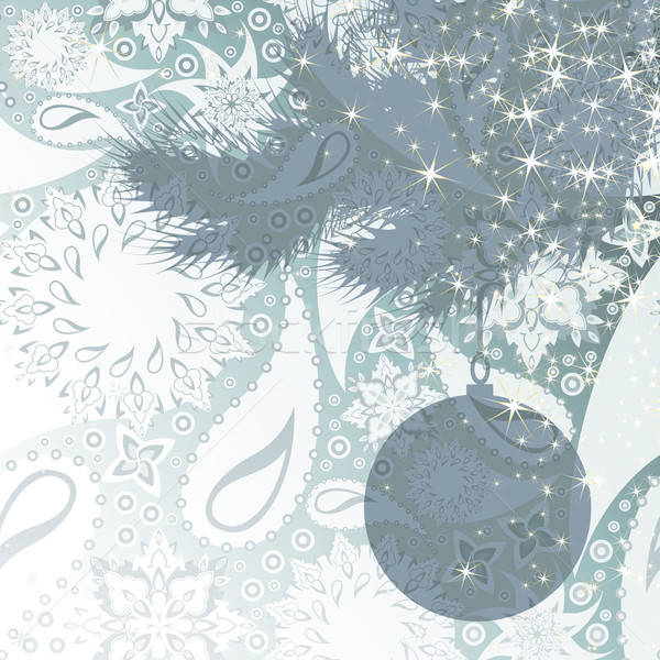 Noël illustration utile designer travaux arbre Photo stock © Aqua