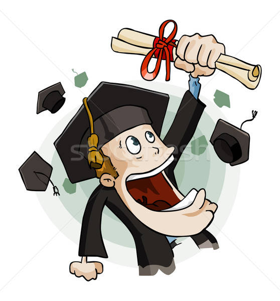 Graduate Stock photo © araga