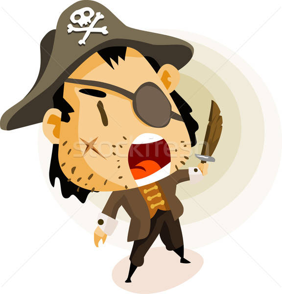Pirate Captain Stock photo © araga