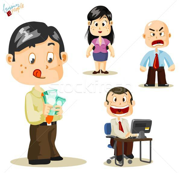 Salary. Business People Stock photo © araga