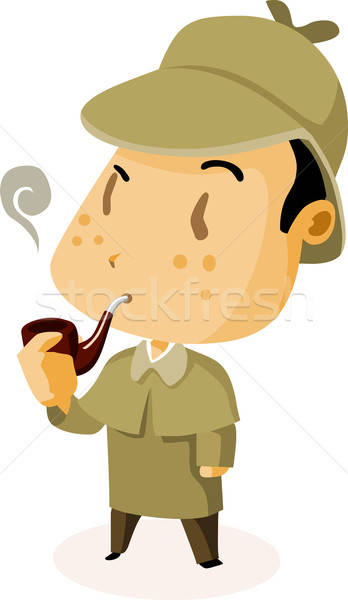 British Detective Stock photo © araga