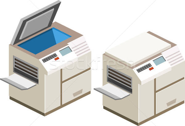 Photocopy Machine Stock photo © araga