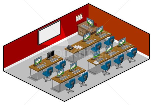 Computer Class Stock photo © araga