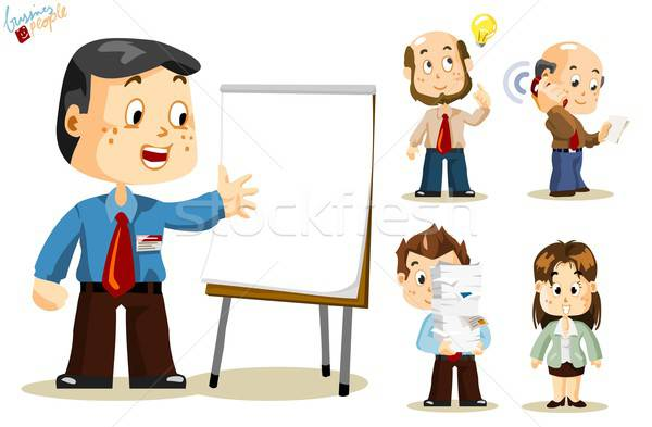 Presentation. Business People Stock photo © araga