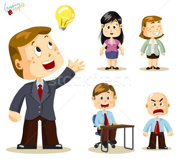 Solution. Business People Stock photo © araga