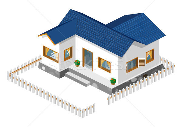 House Isometric Stock photo © araga