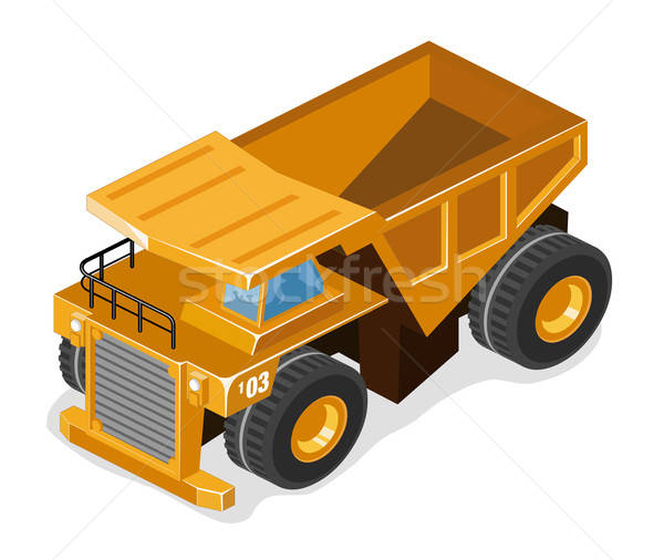 Heavy Mining Truck Stock photo © araga