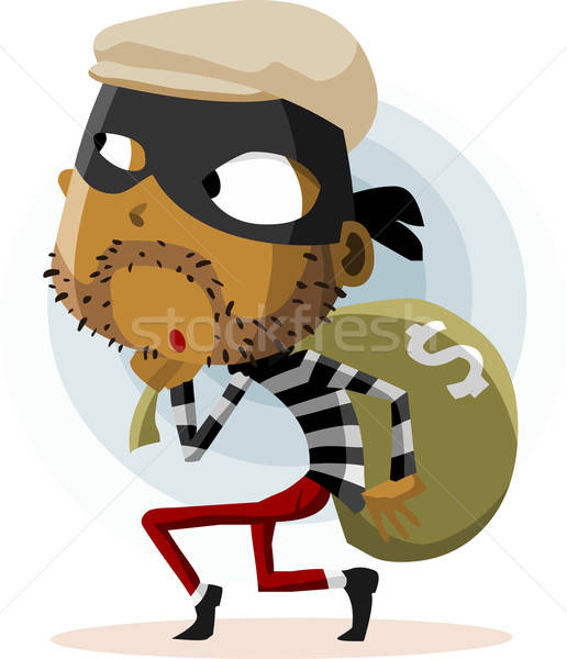 Criminal Thief Activity Stock photo © araga