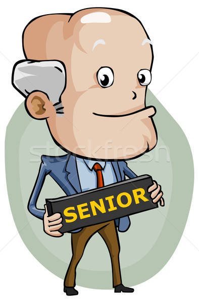 Senior Stock photo © araga
