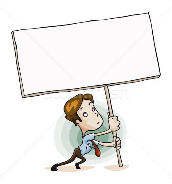 Personel mesaj kutu ayrıntılı yalıtılmış Stok fotoğraf © araga