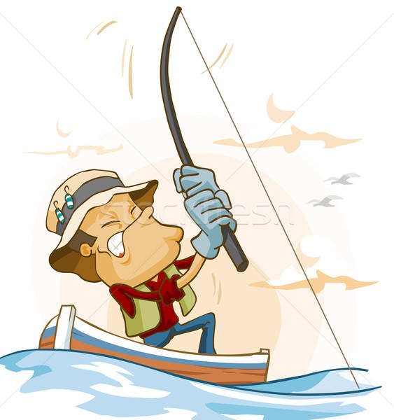 Fishing activity Stock photo © araga