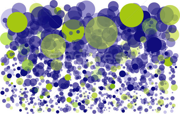Blue bubbles background concept Stock photo © archymeder