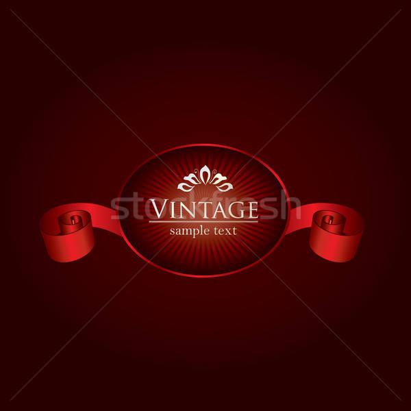 Royal vintage design Stock photo © archymeder