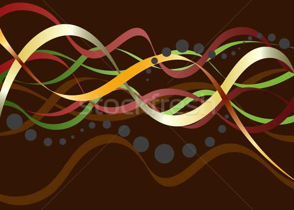 Resumen marrón vector formato textura Foto stock © archymeder
