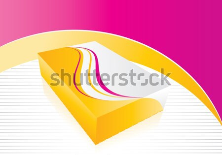 3D box icon Stock photo © archymeder