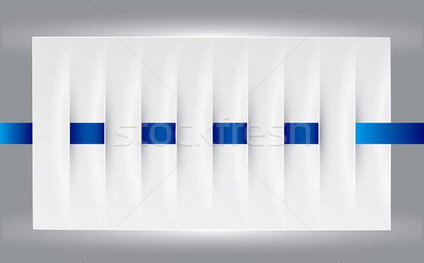 Vertical design element Stock photo © archymeder