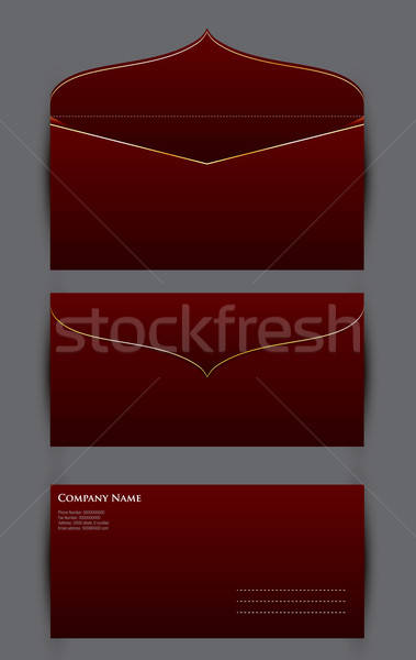 Dotación diseno vector formato negocios Foto stock © archymeder