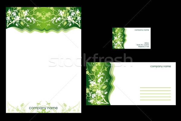 Simple stationary design Stock photo © archymeder