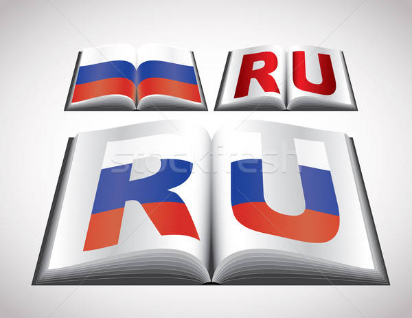 National Flag concept of Russian Federation Stock photo © archymeder