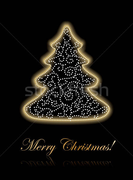 Christmas Greeting cover Stock photo © archymeder