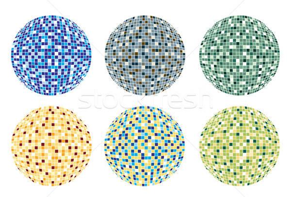 Luces disco vector Foto stock © archymeder