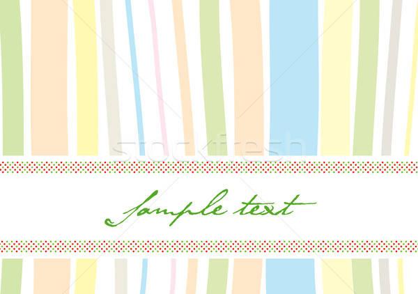 Retro seamless cover Stock photo © archymeder