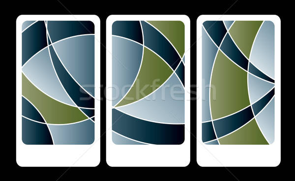 Business card icons Stock photo © archymeder
