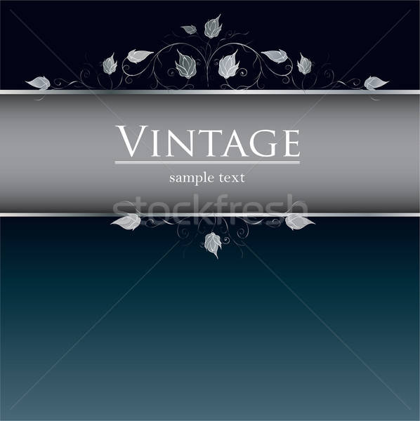 Royal vintage cover Stock photo © archymeder