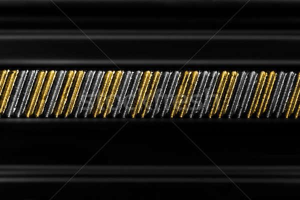 Construction floue route web industrie noir Photo stock © arcoss